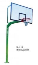 SLJ-10地埋圆管复合板篮球架