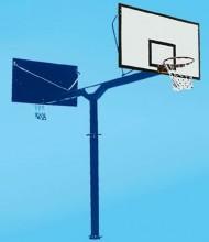 海燕式地埋单臂篮球架