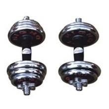 15KG多彩电镀哑铃HJ-A041